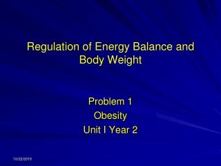 Understanding Obesity: Neuropeptides, Hormones and the  Endocannabinoid System