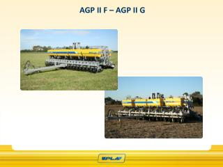 AGP II F – AGP II G