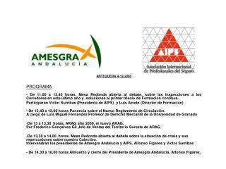 ANTEQUERA 4-12-2008 PROGRAMA