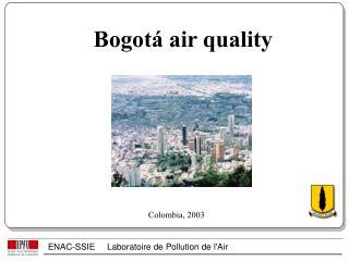 Bogotá air quality