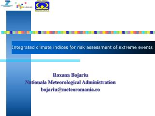 Integrated climate indices for risk assessment of extreme events