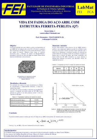 FACULDADE DE ENGENHARIA INDUSTRIAL  da Fundação de Ciências Aplicadas