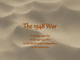 The 1948 War