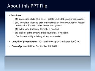 About this PPT File