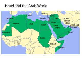 Israel and the Arab World