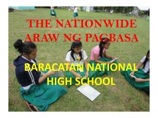 THE NATIONWIDE ARAW NG PAGBASA