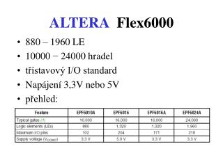 ALTERA Flex6000