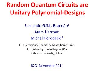 Random Quantum Circuits are Unitary Polynomial-Designs