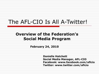 The AFL-CIO Is All A-Twitter!