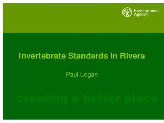 Invertebrate Standards in Rivers
