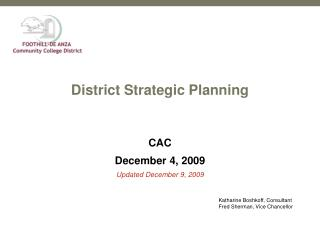 District Strategic Planning