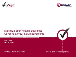 Maximize Your Hosting Business: Covering all your SSL requirements