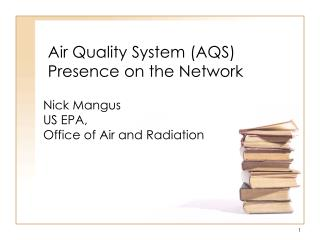 Air Quality System (AQS) Presence on the Network