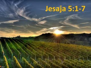 Jesaja 5:1-7