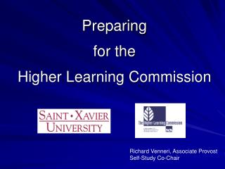 Preparing for the Higher Learning Commission