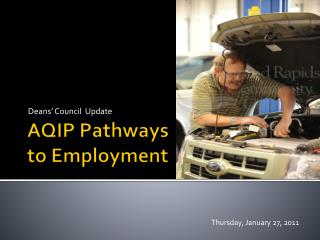 AQIP Pathways to Employment