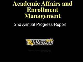 Academic Affairs and Enrollment Management