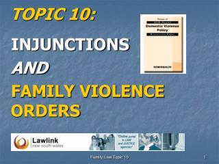 TOPIC 10: