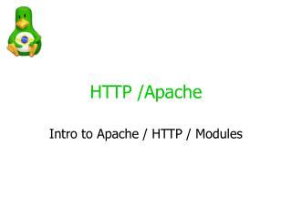 HTTP /Apache