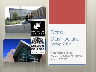 Data Dashboard Spring 2012
