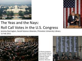 Voting in Congress
