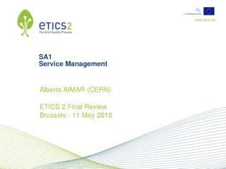 SA1 Service Management