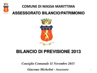 COMUNE DI MASSA MARITTIMA