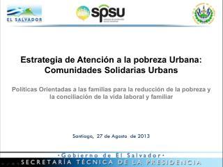 Santiago,  27 de Agosto  de 2013
