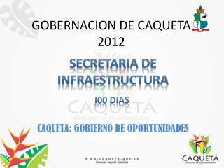 GOBERNACION DE CAQUETA 2012