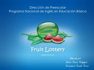 Elaborado por:  Asesor Técnico Pedagógico Mtra.  Serenamaría  Facundo  Torres