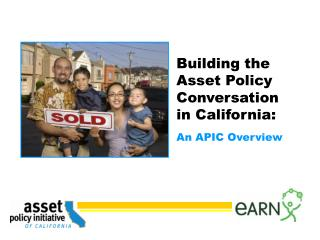Building the Asset Policy Conversation in California: An APIC Overview