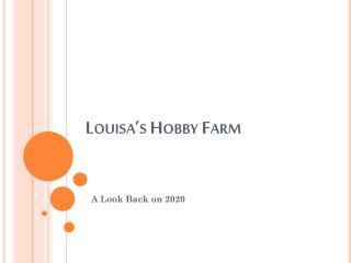 Louisa's Hobby Farm