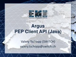 Argus PEP Client API (Java)