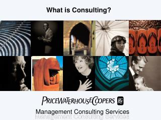 What is Consulting?