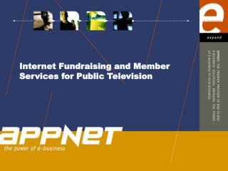 Internet Fundraising and Member Services for Public Television