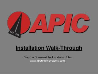 Installation Walk-Through