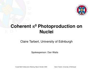 Coherent  p 0  Photoproduction on Nuclei