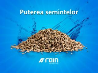 Puterea semintelor