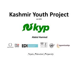 Kashmir Youth Project est 1979