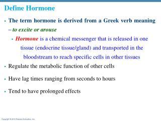 Define  Hormone