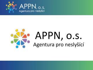 APPN, o.s. Agentura pro neslyšící