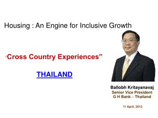 """ Cross Country Experiences"" THAILAND"