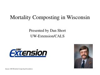 Mortality Composting in Wisconsin