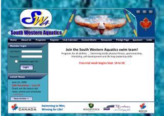 SWA Home Page - Sample