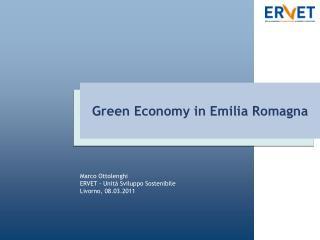Green Economy in Emilia Romagna