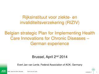 Rijksinstituut voor ziekte - en  invaliditeitsverzekering  (RIZIV)
