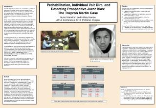 Prehabilitation, Individual Voir Dire, and Detecting Prospective Juror Bias: