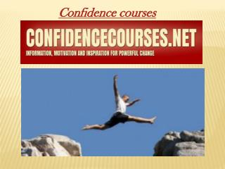 confidence courses
