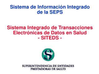 Sistema de Informaci�n Integrado de la SEPS