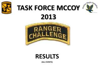 TASK FORCE MCCOY 2013